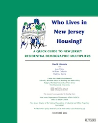 Quick Guide to NJ Res Demographic Multipliers